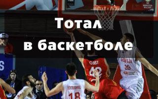 Тотал в баскетболе: примеры и виды
